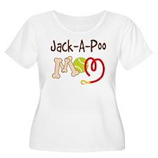 Jack-A-Poo Dog Mom T-Shirt