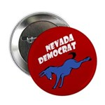 Nevada Democrat Political Button