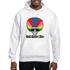 Rainbow Afro Hoodie