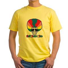 Rainbow Afro Yellow T-Shirt
