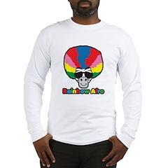 Rainbow Afro Long Sleeve T-Shirt