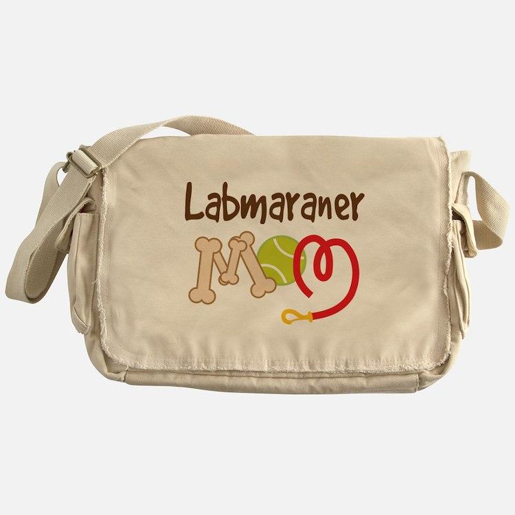 Labmaraner Dog Mom Messenger Bag