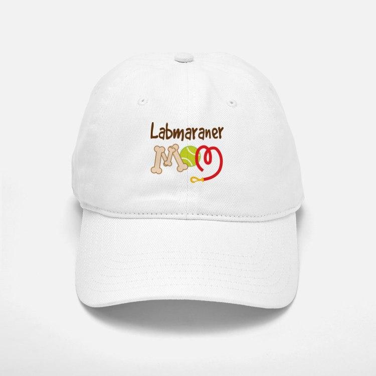 Labmaraner Dog Mom Baseball Baseball Cap