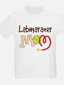 Labmaraner Dog Mom T-Shirt