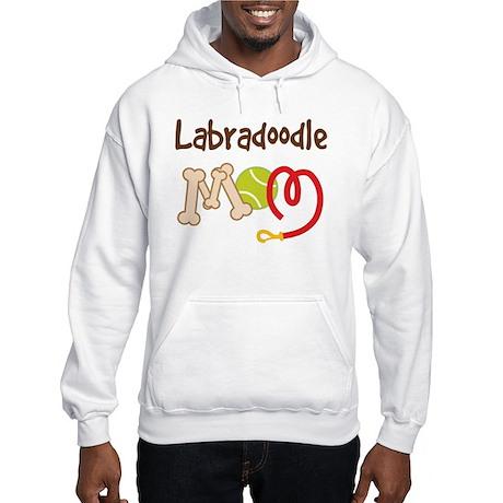 Labradoodle Dog Mom Hooded Sweatshirt