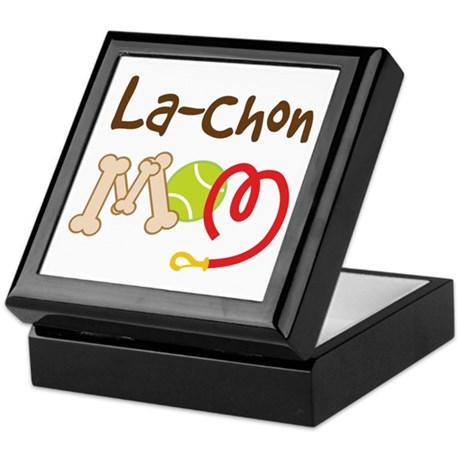 La-Chon Dog Mom Keepsake Box