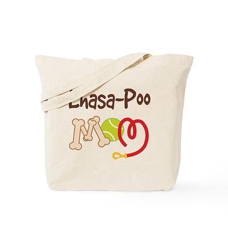 Lhasa-Poo Dog Mom Tote Bag