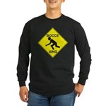 Bocce Xing clipped Long Sleeve Dark T-Shirt