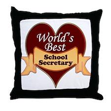 School secretaries Throw Pillow