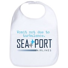 SeaPort Baby Bib