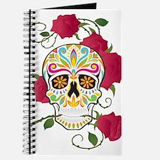 Rose Sugar Skull Journal