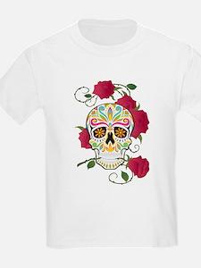 Rose Sugar Skull T-Shirt
