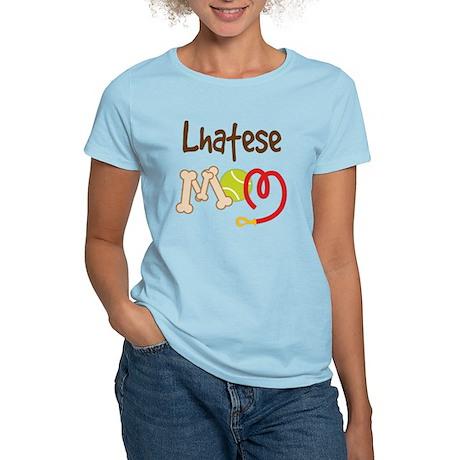 Lhatese Dog Mom Women's Light T-Shirt