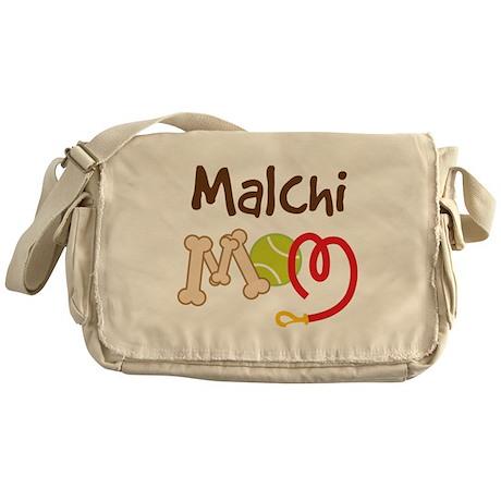 Malchi Dog Mom Messenger Bag