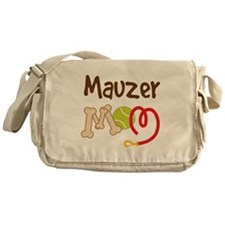 Mauzer Dog Mom Messenger Bag