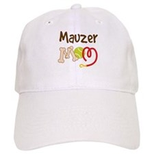 Mauzer Dog Mom Baseball Cap