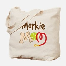 Morkie Dog Mom Tote Bag
