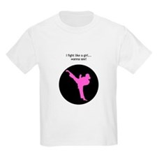 fight like a girl- with circle.jpg T-Shirt