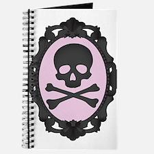 Skull and Crossbones Cameo Journal