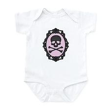 Skull and Crossbones Cameo Infant Bodysuit