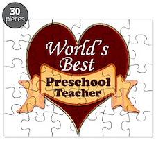 Unique Preschool teacher Puzzle