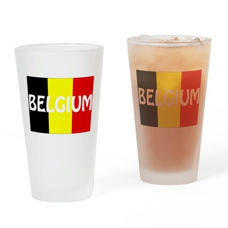 Belgium Drinking Glass