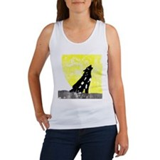 Vintage Howling Wolf Women's Tank Top