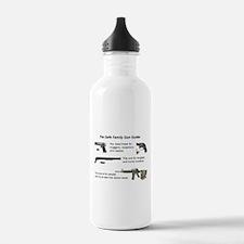 Safe Family Gun Guide Water Bottle