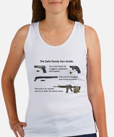 Safe Family Gun Guide Women's Tank Top