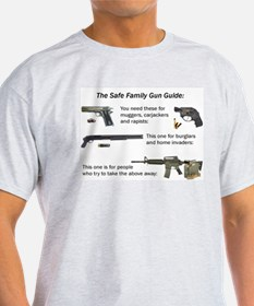 Safe Family Gun Guide T-Shirt