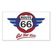 Route 66 Decal