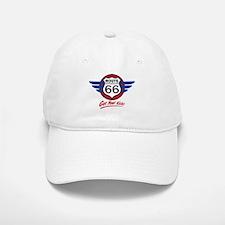 Route 66 Baseball Baseball Cap