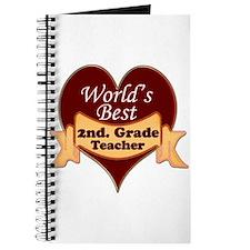 Funny 2nd grade teacher Journal