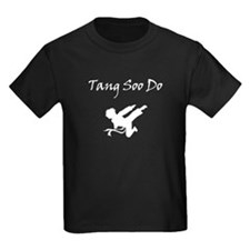 Tang Soo Do Boy White Silhouette T