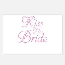 Kiss The Bride Postcards (Package of 8)