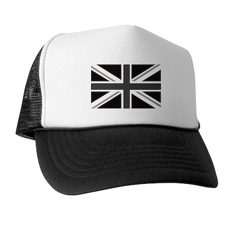 Union Jack mono Great Britain Flag Trucker Hat