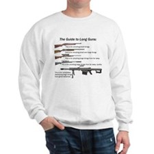 Guide to Long Guns Sweatshirt