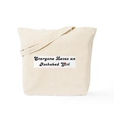 Loves Aschabad Girl Tote Bag