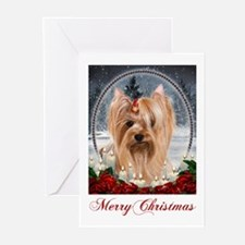 Yorkie Christmas Cards (Pk of 20)