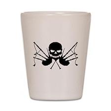 Skull & Crossdrones, Black Shot Glass
