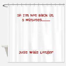 Cute Long Shower Curtain