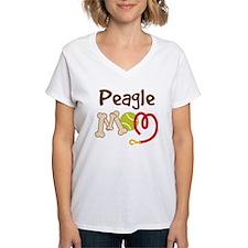 Peagle Dog Mom Shirt