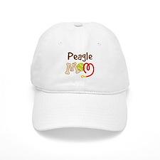 Peagle Dog Mom Baseball Cap