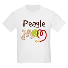 Peagle Dog Mom T-Shirt