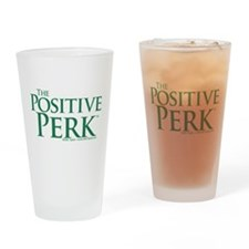 The Positive Perk Drinking Glass