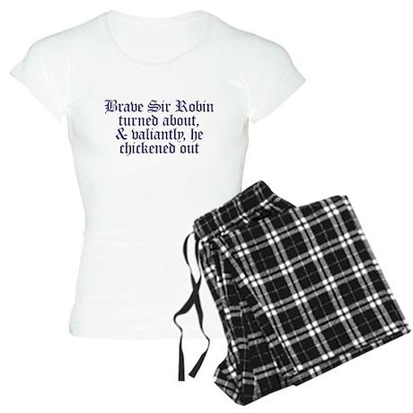 Brave Sir Robin Women's Light Pajamas