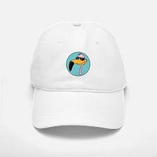 Flamingo in Shades Baseball Baseball Cap