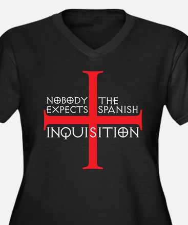 spanish inquisition Women's Plus Size V-Neck Dark