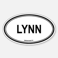 Lynn (Massachusetts) Oval Decal