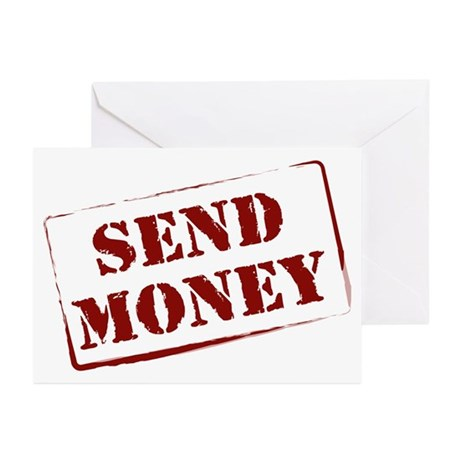 Send Money! Greeting Cards (Pk of 10)